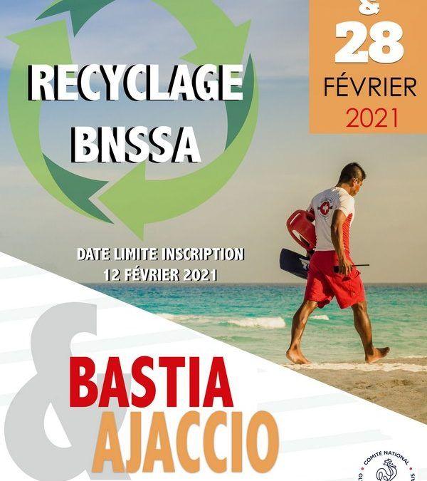 RECYCLAGE BNSSA 2021