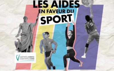 Les dispositifs d'aide en faveur du sport de la Collectivité de Corse