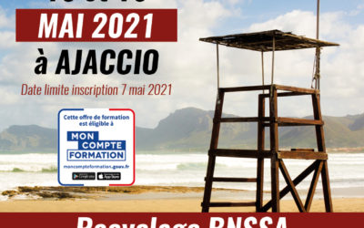 Ouverture session Recyclage BNSSA – MAI 2021