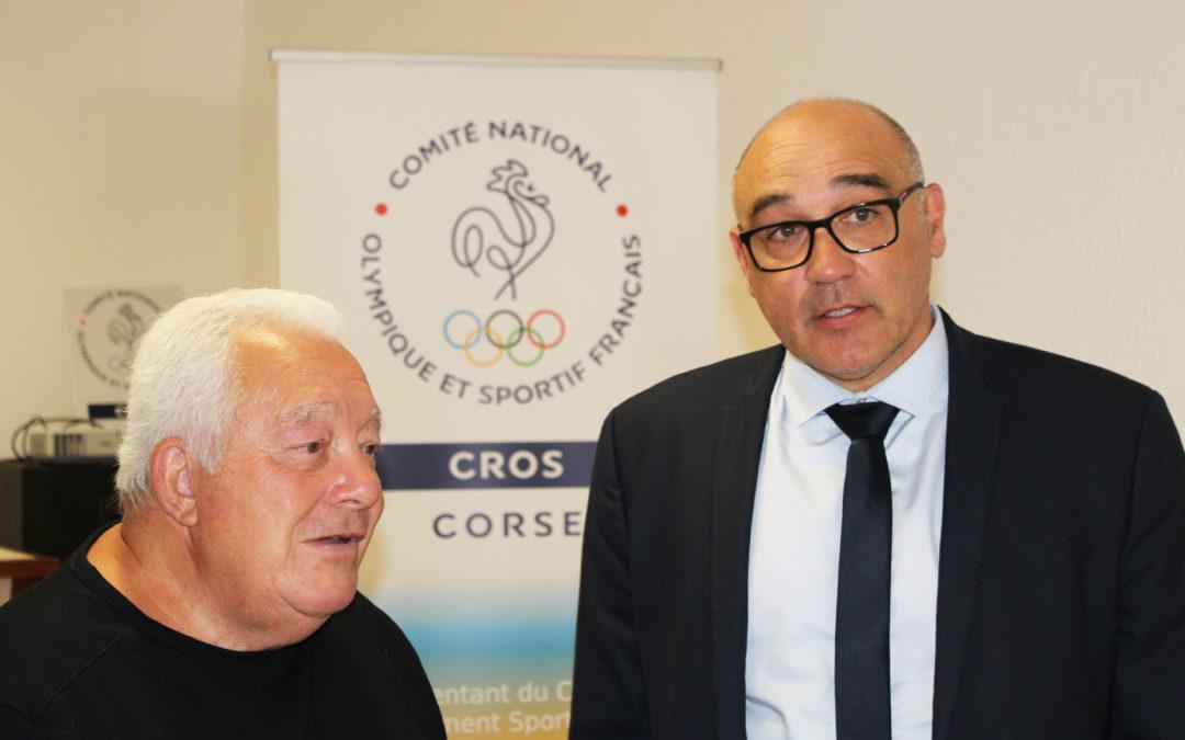 LA FÉDÉRATION FRANÇAISE D'ESCRIME EN VISITE AU CROS DE CORSE