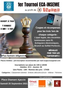 1er tournoi ECA-INSEME @ place du Diamant | Ajaccio | Corse | France